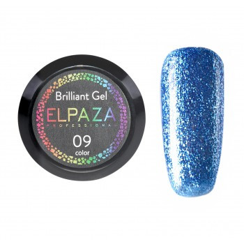 ELPAZA BRILLIANT GEL №9