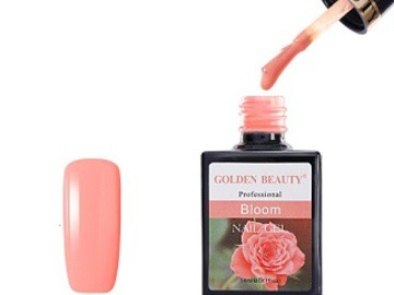 Гель-лак Golden Beauty, Bloom 54 Кораллово-розовый 14мл